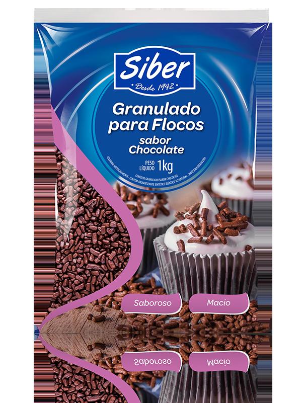 Granulado para Flocos sabor Chocolate